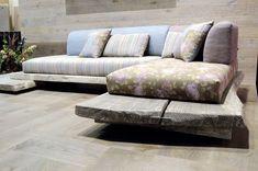 divani in muratura - Cerca con Google | Arredamento | Pinterest ...