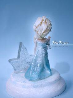 KuroHouse of Craft: Elsa Clay Figure by KuroHouseofCraft