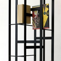 This bookcase without shelves by Tokyo designer Chicako Ibaraki is now in production with Italian brand Casamania. Minimalist Bookshelves, Furniture Decor, Furniture Design, Modern Furniture, Unique Shelves, Unique Bookshelves, Shelving Design, Contemporary Chairs, Design Research