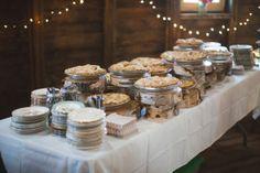 Pie As Wedding Dessert