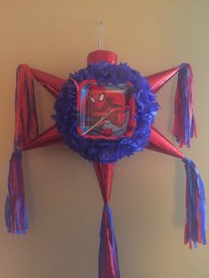 Spiderman Star Pinata