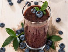 This Choc-Zilla Smoothie will wake you up and help you conquer the day.