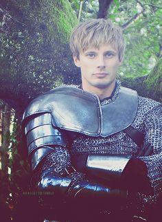 Arthur.....a knight in shining armor indeed!