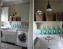 Laundry room with lots of laundery basekts - Bing Images
