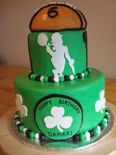 Boston Celtics Cake If I Have A Boy Want This For Baby Shower
