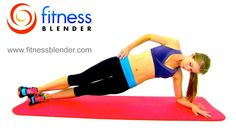 20 Minute Outer Thigh Workout - Sayonara Saddlebags! Outer Thigh Exercises, via YouTube.