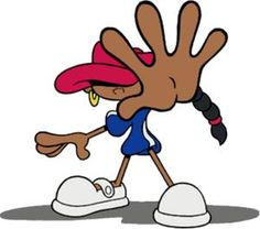 Abigail Lincoln a. Numbuh 5 is the deuteragonist of Codename: Kids Next Door. Black Cartoon Characters, Cartoon Gifs, Cartoon Icons, Cartoon Drawings, Anime Characters, Cartoon Tattoos, Nickelodeon Cartoons, Cartoon Wallpaper, Oeuvre D'art