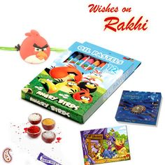 Picture of Angry Bird Crayon set Jigsaw Puzzle and Rakhi Hamper Oil Pastel Crayons, Hampers Online, Rakhi Gifts, Gift Hampers, Jigsaw Puzzles, Bird, Gift Baskets, Birds, Puzzles