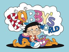 Bobby's World, ah man! I would watch this every morning before school. Old Cartoons, Classic Cartoons, Retro Cartoons, 90s Childhood, My Childhood Memories, Family Memories, Mejores Series Tv, Bobby S, Back In My Day