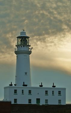Sunset Flamborough Lighthouse