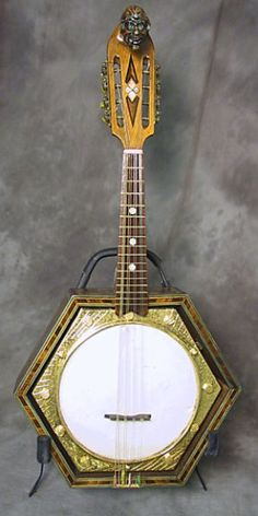 French mandolin banjo made for   Maurice Chevalier