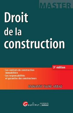 Droit de la construction_2016