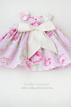 Baby Rose Dress – Kinder Kouture