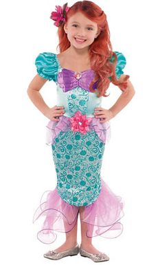 Create Your Own Girls' Ariel Costume Accessories - Party City