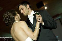 Couple shares first dance  Photo Credit- Kim Greer  #CincinnatiWedding #PartyPleasers First Dance Photos, Voice Of America, Wedding Advice, Wedding Ideas, Wedding Gallery, Newlyweds, Photo Credit, Wedding Ceremony, Dream Wedding