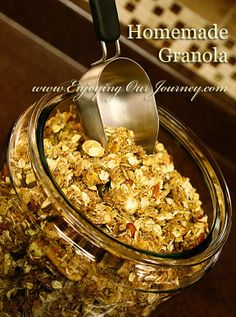 Enjoying Our Journey: The Breakfast of Champions Homemade Granola
