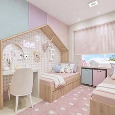 abreu… Source by dracarolineluz Baby Bedroom, Baby Room Decor, Girls Bedroom, Bedroom Decor, Kids Bedroom Designs, Kids Room Design, Little Girl Rooms, Awesome Bedrooms, Dream Rooms