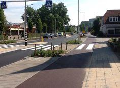 Complete street crossing in Nijmegen, NL. Photo: Katja Leyendecker. Click image for source and visit the Slow Ottawa / Vision Zero Canada boards >> https://www.pinterest.com/slowottawa/