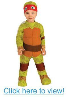 Baby-Toddler-Costume Tmnt Raphael Toddler Costume 2T-4T Halloween Costume