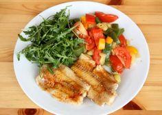 Ryba na masle s dusenou zeleninou - recept