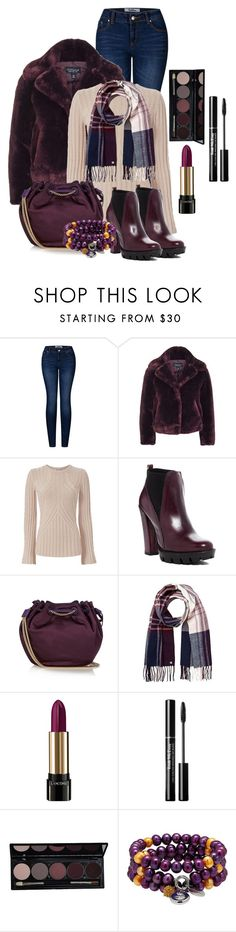 """Untitled #1010"" by janie-xox ❤ liked on Polyvore featuring 2LUV, Topshop, Autumn Cashmere, Charles David, Diane Von Furstenberg, Lipsy and Lancôme"