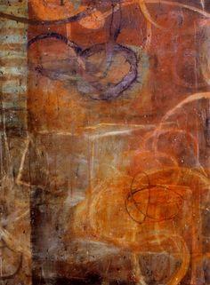 treebystream:    (via Contemporary Abstract Art III)Bill Gingles, Canticle of Rust