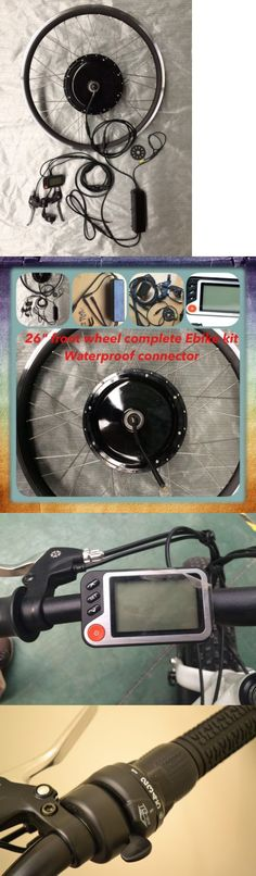 Electric Bicycle Components 177814: Electric Bike 36V 500W 26 Front Wheel Kit ,Ebike Conversion Kit.Ebike Kit -> BUY IT NOW ONLY: $255 on eBay!
