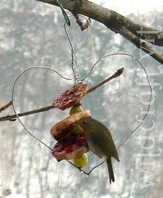 Valentine's Bird Feeder