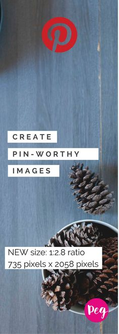 Pinterest is changing their aspect ratio to work better on mobile devices. The new ratio is 1:2.8 and the max width for pins is 735 so I'm testing this image with 735 pixels x 2058 pixels.