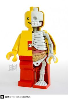 Lego mini figure ana