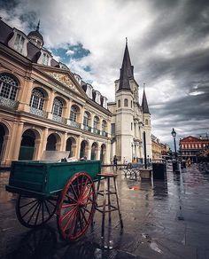 Sunday morning 📷 @theurbanshot #AlwaysNewOrleans Sunday Morning, Notre Dame, Barcelona Cathedral, Building, Travel, Voyage, Buildings, Viajes, Traveling
