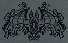 Gothic Gala - Bat - Thread List | Urban Threads: Unique and Awesome Embroidery Designs