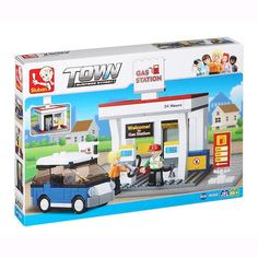 Service Station Building Game (167 pieces)