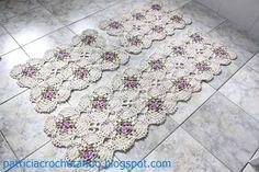 flor catavento em croche graficos - Pesquisa Google