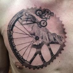 bicycle wheel tattoo - Buscar con Google