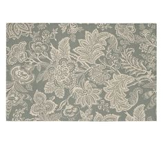 Layla Palampore Indoor/Outdoor Rug - Gray | Pottery Barn