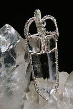 Beautiful & Powerful Wire Wrapped Quartz Crystal Jewelry
