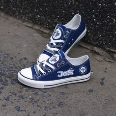 Casual Sneakers, Casual Shoes, Shoes Sneakers, Nhl, Jet Shoes, Jets Hockey, Jet Fan, Olympic Games Sports, Shoe Department