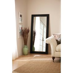 Better Homes and Gardens Leaner Mirror in Bronze - $45.77.  Bought this today for bedroom.