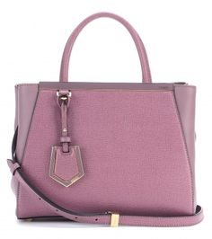 #fendi - 2jours small leather tote