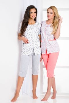 3f85ef114e Pyjamas for women Taro Wera 908 S-XL N is made of cotton. Pajamas with short  sleeves.