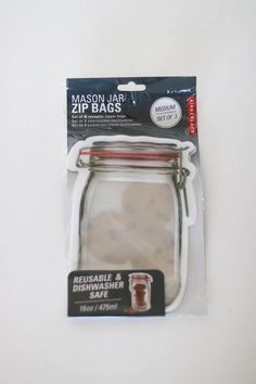 3 reuseable zipper bags durable leak-prood design reuseable & eco-friendly dishwasher & freezer safe stand-up design for easy-snaking BPA, PVC, Latex & Phthalates free Restaurant Coupons, Zipper Bags, Medium Bags, Freezer, Latex, Dishwasher, Mason Jars, Eco Friendly, Design
