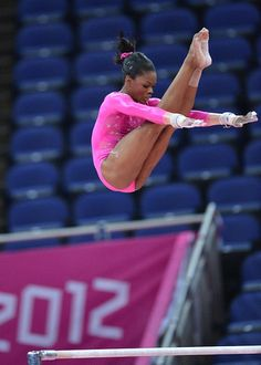 Gabby Douglas - flying high!