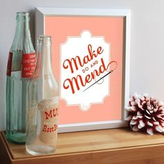 Make Do and Mend.   Don't have to buy this to live it.   But it is super cute.