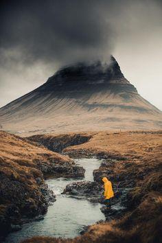 Mountain in Iceland. Konsta Punkka #volcano
