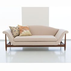 Interior HomeScapes offers the Wagner Sofa - Linen by Studio A. Visit our online store to order your Studio A products today. Sofa Seats, Chaise Sofa, Unique Sofas, Linen Sofa, Couch Furniture, Unique Home Decor, Beautiful Space, Home Furnishings, Love Seat