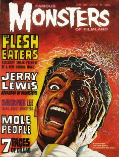 Famous Monsters of Filmland. No. 29. July 1964.