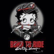 #bettyboop #popfunk  http://www.popfunk.com/mens-tees/betty-boop/boop-born-to-ride-black-s-s-tee-sm.html