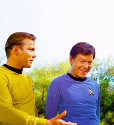 And then I set phasers for giggles and zapped Spock