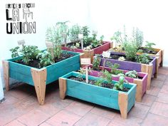 Diy covered greenhouse garden a removable cover solution - Jardines chicos decoracion ...